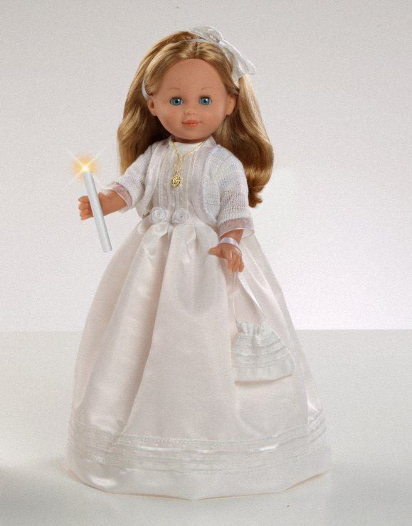 Doll-communion-blonde-candle
