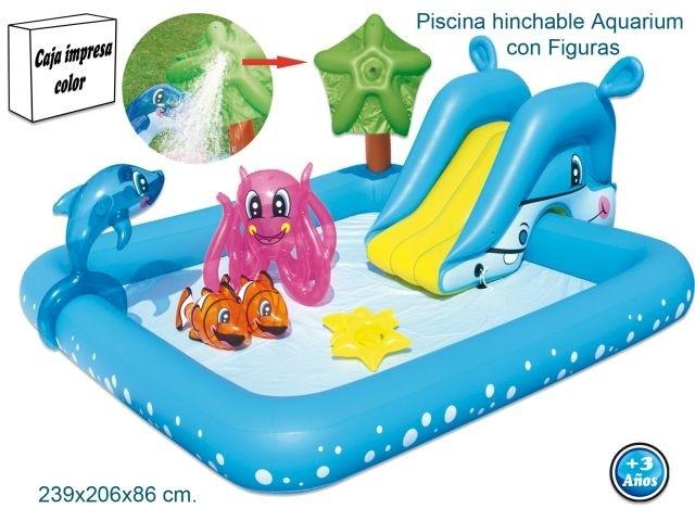 piscina-actividades-tobogan-animales-chorro