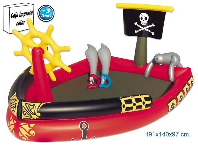 Swimming pool-inflatable-pirates