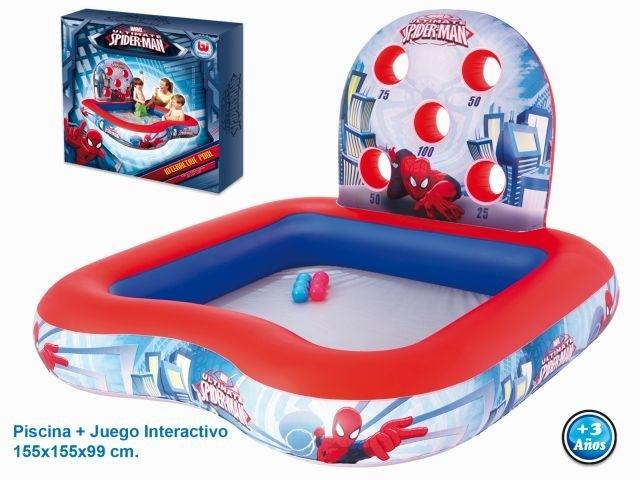 Pool-inflatable-spiderman