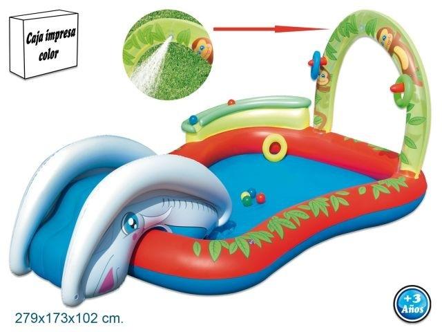 Pool-inflatable-toboggan