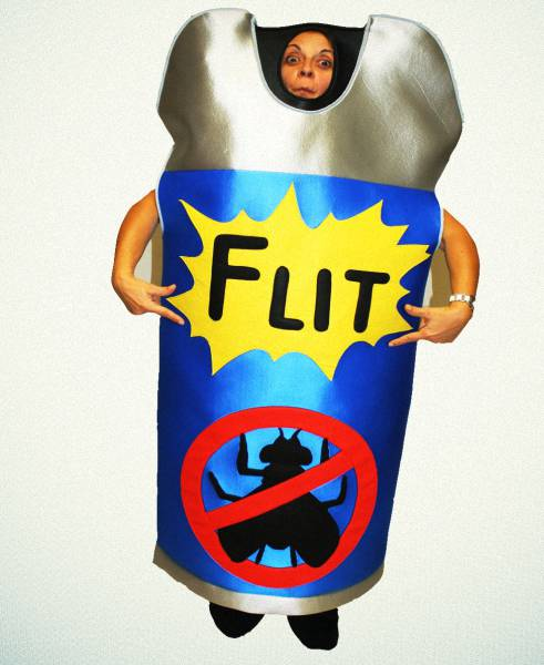 Flit spray costume