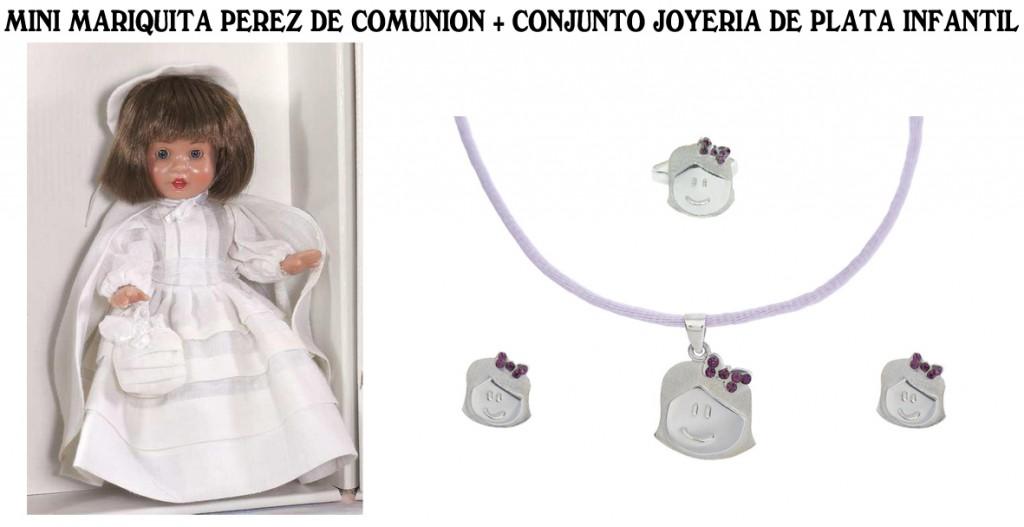 262938faa120 MUÑECAS COMUNIÓN CON JOYERIA INFANTIL - Mundo Diversal