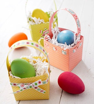 Descarga Moldes Y Plantillas De Canastas Para Huevos De Pascua