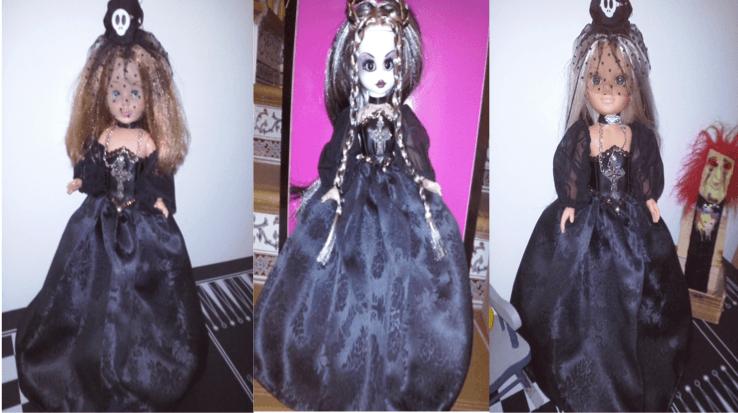 muñecas halloween