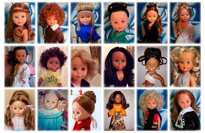 Los Peinados De La Muneca Nancy En Sus Diferentes Epocas