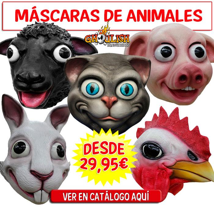 MASCARAS-ANIMALES