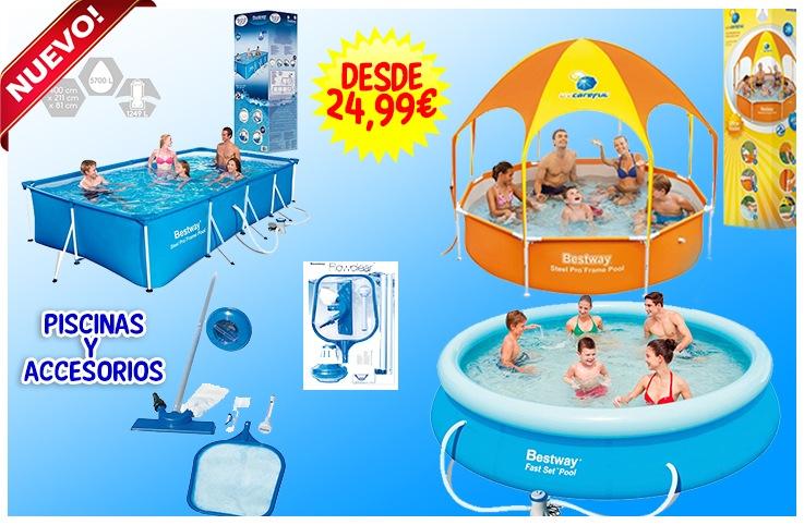 Piscinas y accesorios mundo diversal for Accesorios piscinas
