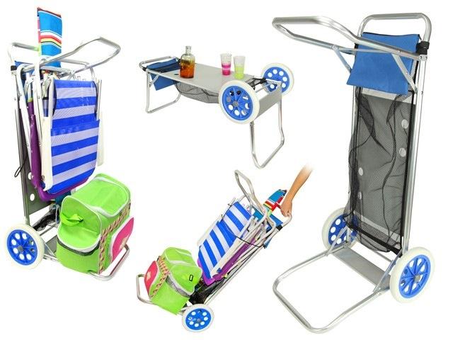 alluminio sedia porta-carrozza