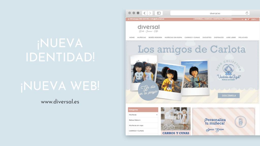 Diversal nueva web