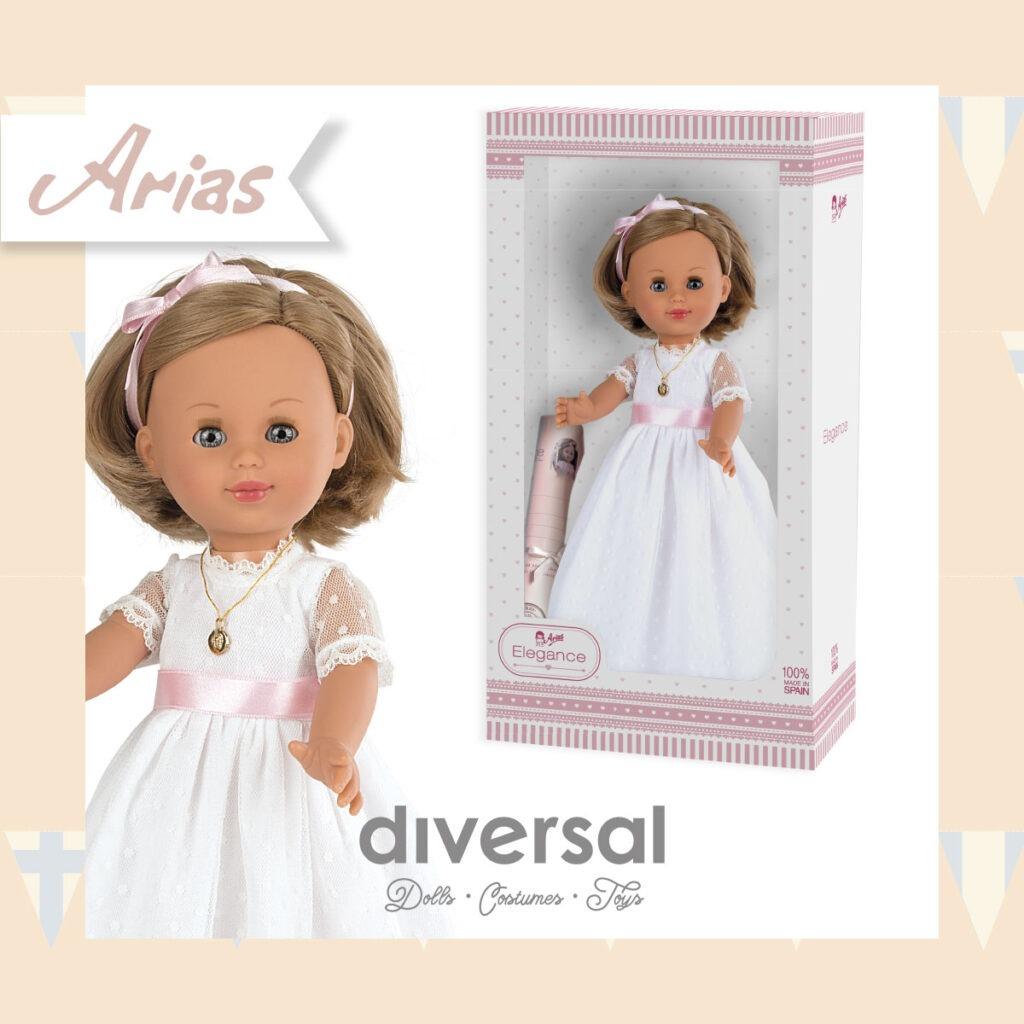 Las mejores muñecas de comunión para regalar online - muñecas arias