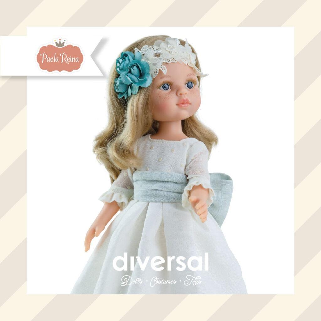 Las mejores muñecas de comunión para regalar online - paola reina